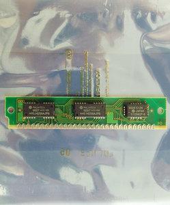 Hitachi HB56D25609B-85A 256 KB 256KB 85 ns 85ns 30-pin SIMM parity RAM memory module - vintage retro 80s