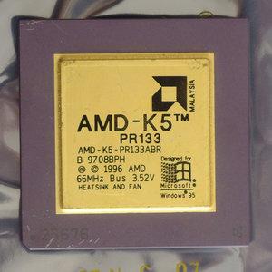 AMD K5 PR133 AMD-K5-PR133ABR 100 MHz socket 5 / 7 processor - CPU 100MHz