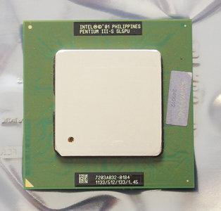 Intel Pentium III-S Tualatin SL5PU 1133 MHz socket 370 processor - CPU PIII P3 1.133GHz S370