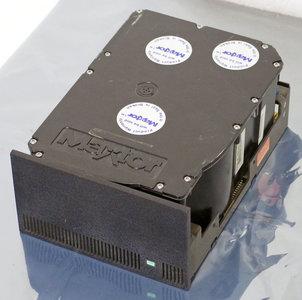 Maxtor XT-8380E 5.25'' full height internal ESDI RLL 380 MB 380MB hard disk drive HDD - vintage retro 90s