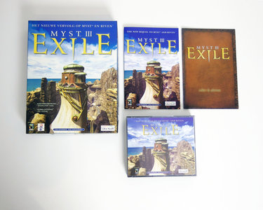 PC & Mac CD-ROM game Myst III - Exile Ubisoft complete - CIB big box adventure Windows 95 98 9x Pentium II iMac G3