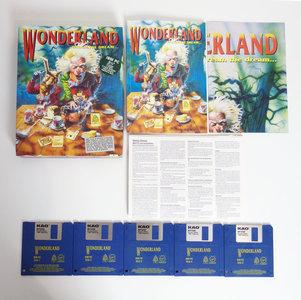 PC 3.5'' disk game Wonderland - Dream The Dream.. Virgin complete - CIB big box adventure DOS 286 386 vintage retro 90s