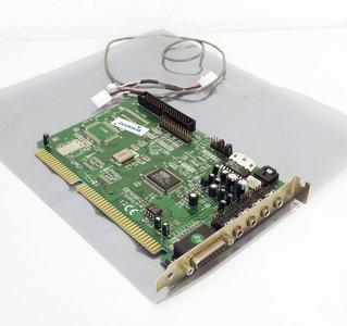 Labway ESS AudioDrive ES1868F sound audio / CD-ROM controller 16-bit ISA PC card - 386 486 Pentium DOS Windows vintage retro 90s