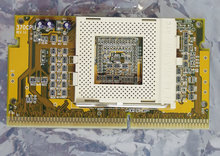 Slot-1-to-socket-370-CPU-converter-S370-adapter-slotket-slocket-processor-vintage-retro-90s-Pentium-III-PIII-P33