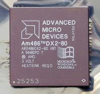 AMD-486-Am486DX2-80-A80486DX2-80-V8T-80-MHz-168-pin-PGA-processor-486DX2-80MHz-CPU-PGA168-socket-1-2-3-vintage-retro-90s