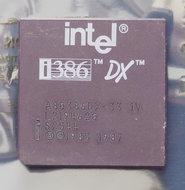 Intel-386-A80386DX-33-IV-SX544-33-MHz-132-pin-PGA-processor-386DX-i386-33MHz-CPU-PGA132-vintage-retro-90s