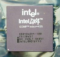 Intel-486-A80486DX4-100-SK051-100-MHz-168-pin-PGA-processor-486DX4-i486-100MHz-CPU-PGA168-socket-1-2-3-vintage-retro-90s