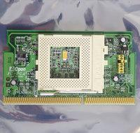 AOpen-FC-PGA-slot-1-to-socket-370-CPU-converter-S370-adapter-slotket-slocket-processor-vintage-retro-90s-Pentium-III-PIII-P3