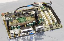 MSI-MS6147-ver.-1.1-BX7-slot-1-mATX-PC-motherboard-main-system-board-Pentium-II-PII-P2-III-PIII-P3-Intel-440BX