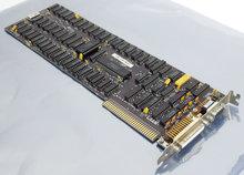 IBM-1501985-MDA-black-&-white-graphics-video-parallel-8-bit-ISA-card-adapter-5150-5160-PC-XT-8088-DOS-vintage-retro-80s