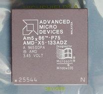 AMD-486-586-Am5x86-P75-AMD-X5-133ADZ-133-MHz-168-pin-PGA-processor-486DX4-133MHz-CPU-PGA168-socket-1-2-3-vintage-retro-90s