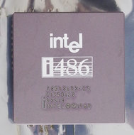 Intel-486-A80486DX-25-SX418-25-MHz-168-pin-PGA-processor-486DX-i486-25MHz-CPU-PGA168-socket-1-2-3-vintage-retro-90s