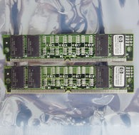 Set-2x-HP-1818-6172-01-Fujitsu-ESA2UN3282A-60JS-S-8-MB-8MB-16-MB-16MB-kit-60-ns-60ns-72-pin-SIMM-non-parity-EDO-RAM-memory-modules-vintage-retro-90s