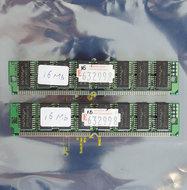 Set-2x-Nanya-NT511740C5J-60-16-MB-16MB-32-MB-32MB-kit-60-ns-60ns-72-pin-SIMM-non-parity-EDO-RAM-memory-modules-vintage-retro-90s