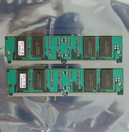 Set-2x-IBM-FRU-92G7321-Mitsubishi-MH2M325CNZJ-6-8-MB-8MB-16-MB-16MB-kit-60-ns-60ns-72-pin-SIMM-non-parity-EDO-RAM-memory-modules-vintage-retro-90s