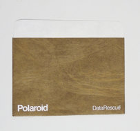 New-loose-Polaroid-DataRescue-5.25-floppy-disk-sleeve-dust-cover-protective-envelope-vintage-retro-80s