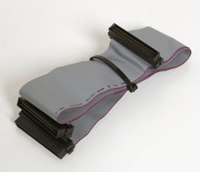 Wide-SCSI-2-HD68-68-pin-2-devices-internal-flat-ribbon-cable-58-cm
