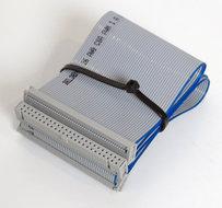 SCSI-50-pin-2-devices-internal-flat-ribbon-cable-69-cm-vintage