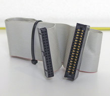 5.25-PC-floppy-disk-drive-34-pin-internal-flat-ribbon-cable-53-cm-w--card-edge-connector-FDD-5.25-inch-vintage-DOS