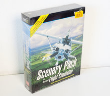 New-&-sealed-PC-CD-ROM-game-Scenery-Pack-For-Microsoft-Flight-Simulator-Great-Britain-Part-1-for-Windows-95-big-box-simulation-FS95-vintage-retro-90s