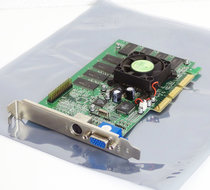 NVIDIA-GeForce2-MX400-64MB-VGA-TV-out-graphics-video-AGP-PC-card-adapter